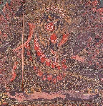 Mahakala Maning, Tibet or Bhutan