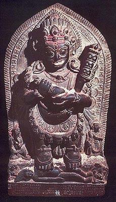 Mahakala (AD1661), Stone