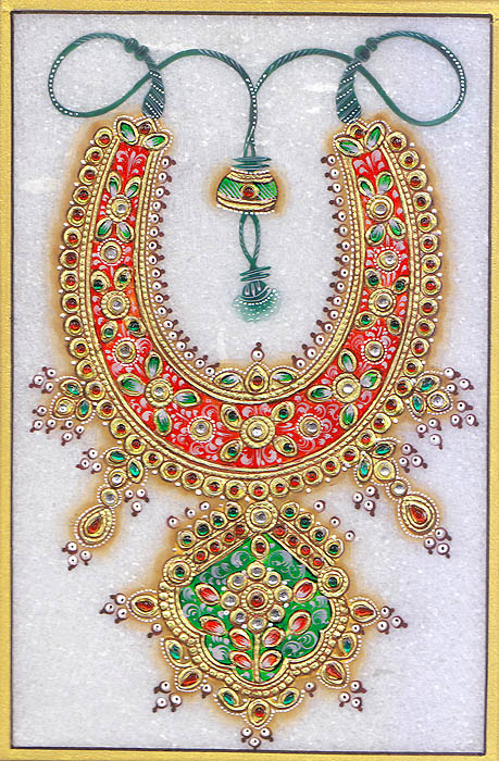 Embossed Necklace (Embossed Painting)
