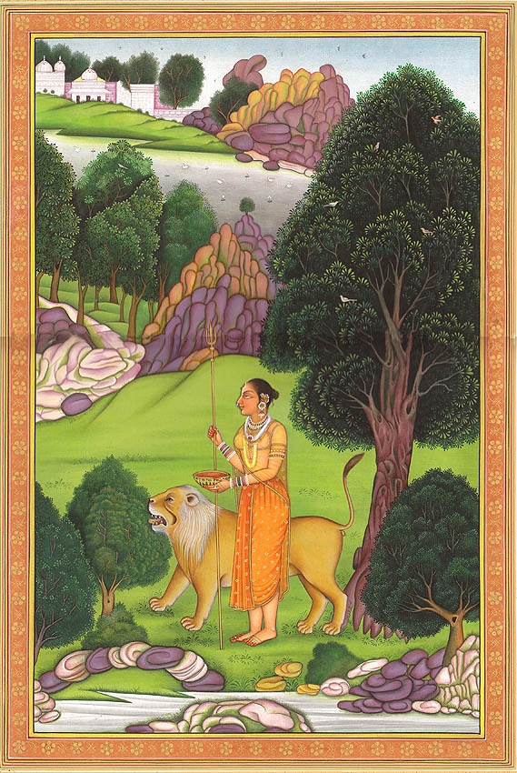 Parvati, The Supreme Ascetic