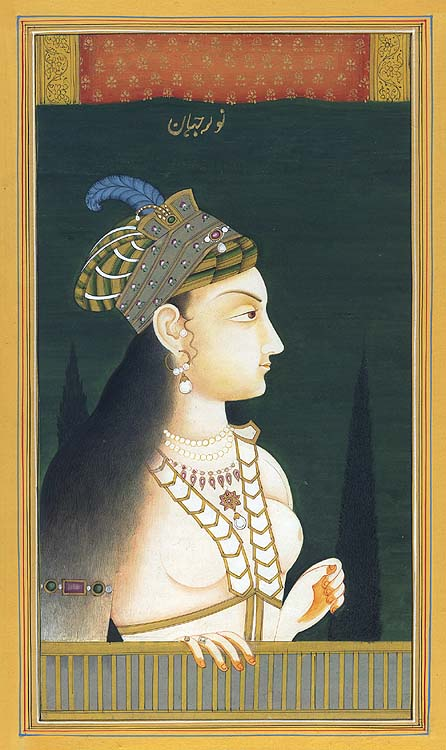 nur jahan Nur jahan possessed great physical strength and courage she often went on hunting tours with her husband, and was known for her marksmanship and boldness in hunting ferocious tigers.