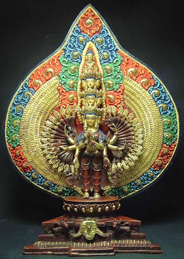 Eleven Headed Thousand Armed Avalokiteshvara