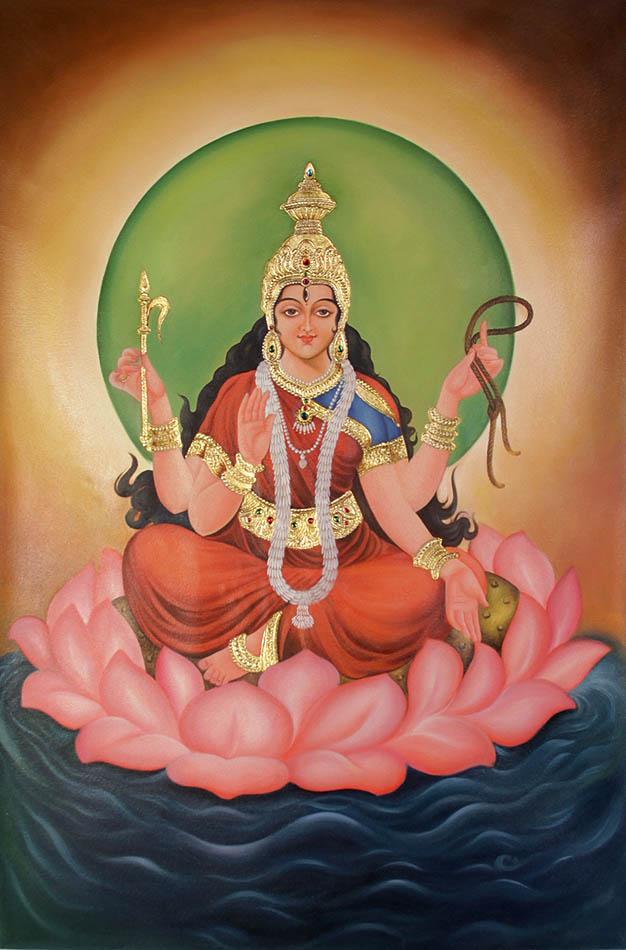 Cosmic Goddess Bhuvaneshvari: The Creator of the World
