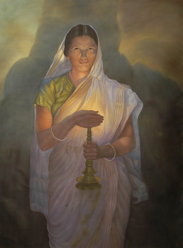 Lady With Lamp