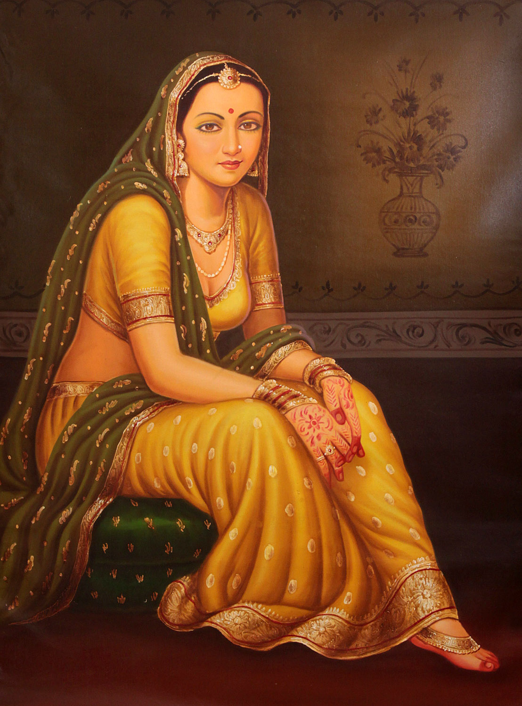 The Portrait Of A Rich Lady