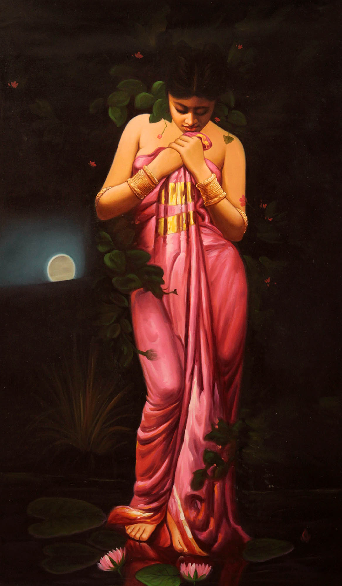 lotus hindu single women Color symbolism in hinduism for the hindu,  women put red powder on the hair parting  single girls wear yellow to attract a mate and.