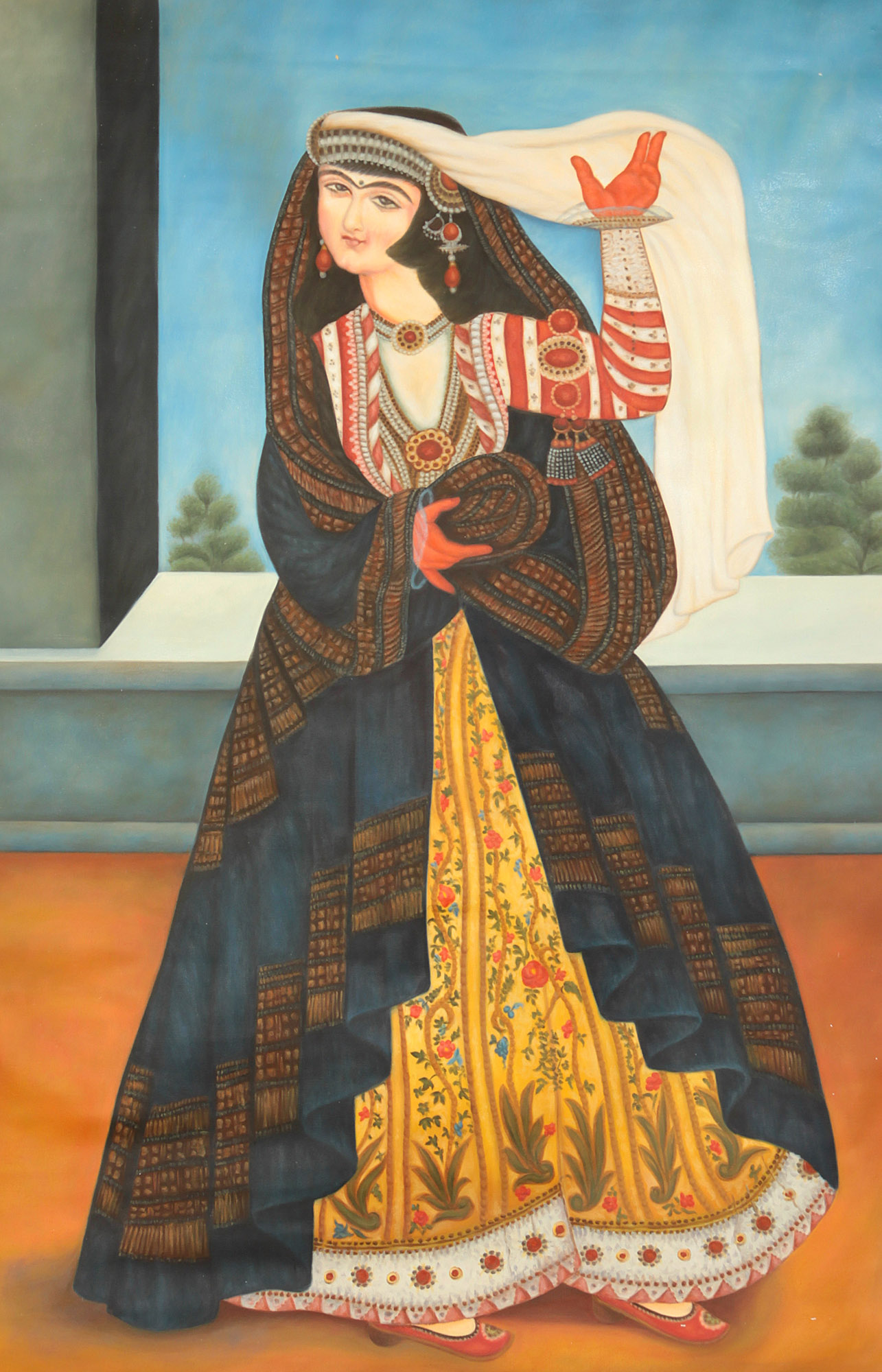 Ancient Persian Art Women