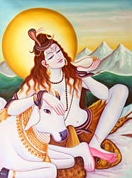 Paintings of Shiva