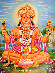 Lord Hanuman Sings Bhajans of Rama