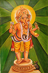 The Radiant Ganesha