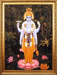 Bhagawan Vishnu (Framed)