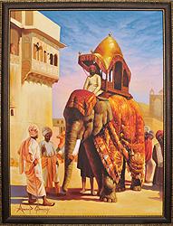 Medieval Rajasthan I (Framed)
