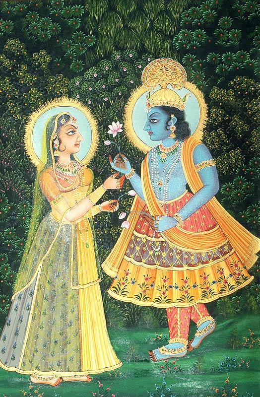 Exchanging Lotuses