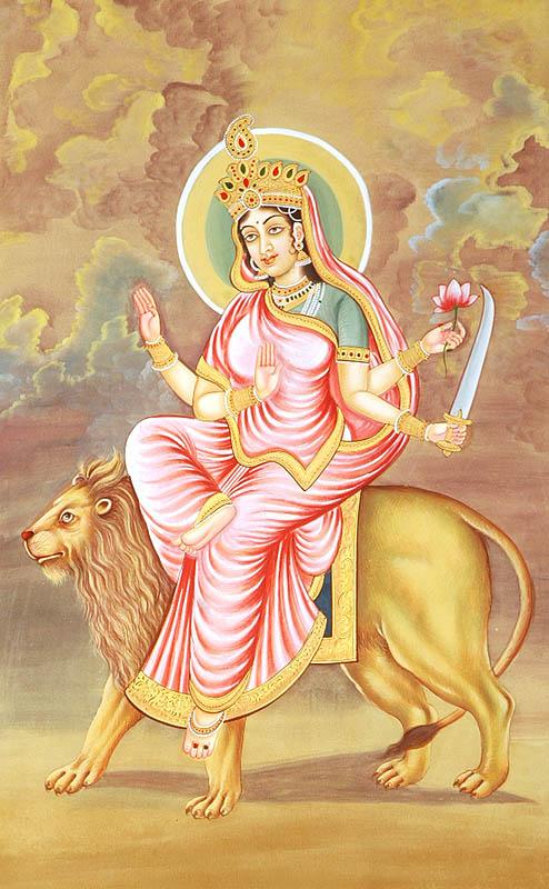Navadurga - The Nine Forms of Goddess Durga - KATYAYANI (The Sixth)
