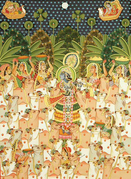 Krishna the Enchanter of Cows and Women
