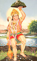 Mighty Hanuman