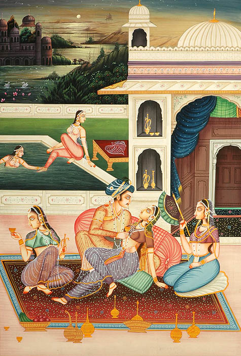 The mughal harem by k.s.lal