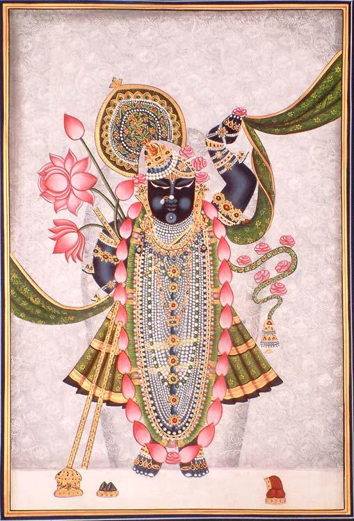 Paintings gt large gt sri nath ji at nathdwara