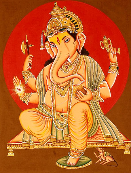 The Benevolent God Shri Ganesha