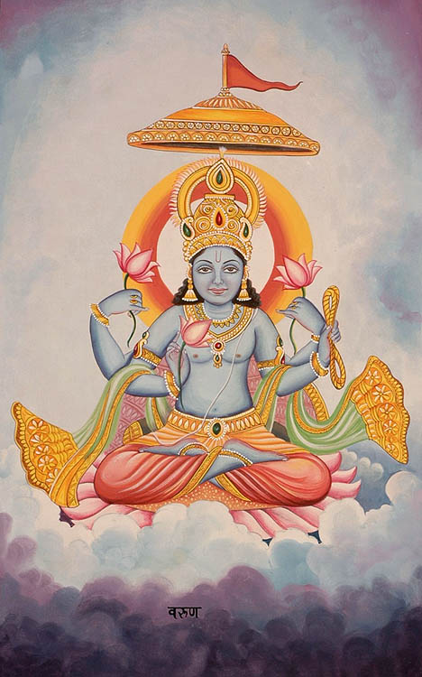 The Twelve Forms of the Sun (Surya) - VARUNA