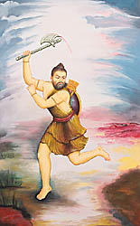 Parashurama, Incarnation of Vishnu and Annihilator of the Kshatriyas