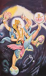 Trivikrama: Vishnu in His Incarnation as Vamana