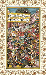 A Persian Battle Scene