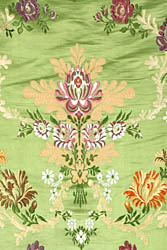 Pale-Green Tibetan Lotus Brocade