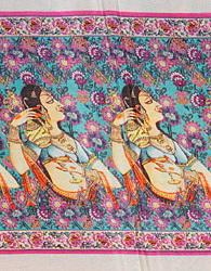 Harem Lady Digital-Printed Fabric Border
