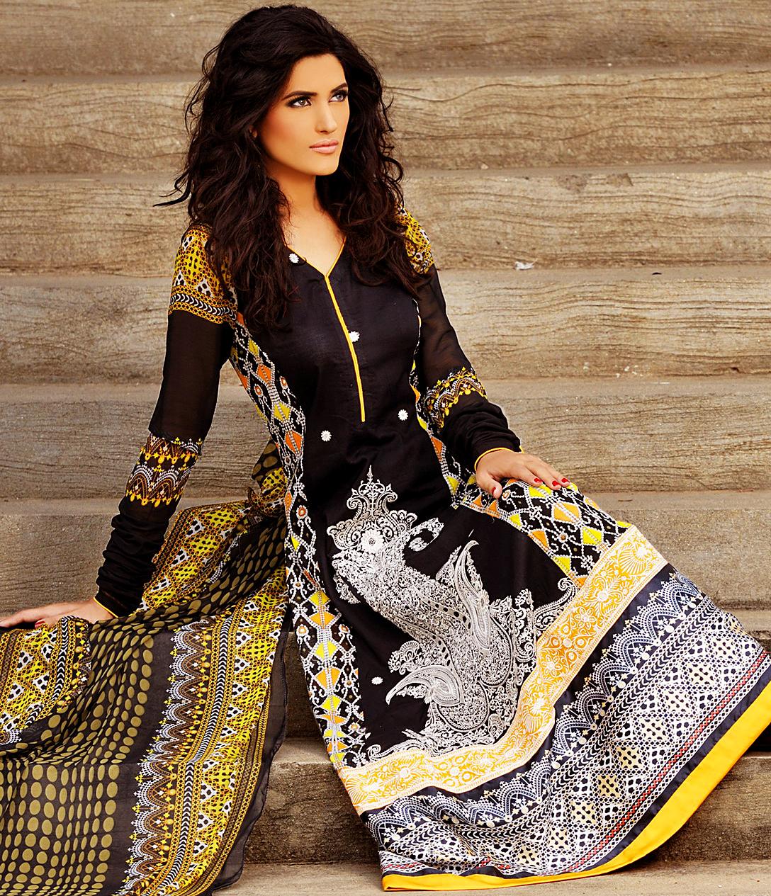 Pics photos pakistani long salwar kameez latest designs 2012 html