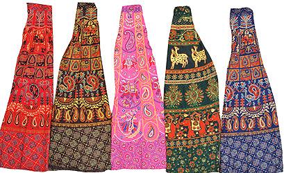 Индийские юбки из хлопка