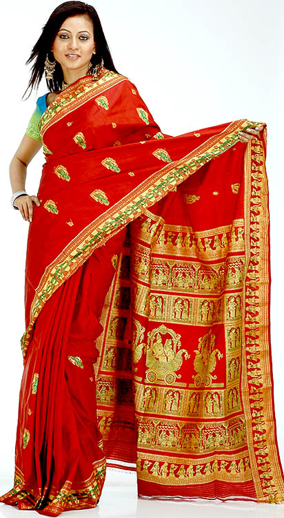 Image credit: http://www.exoticindiaart.com/saris/burgundy_baluchari_sari_depicting_an_indian_wedding_yf34.jpg