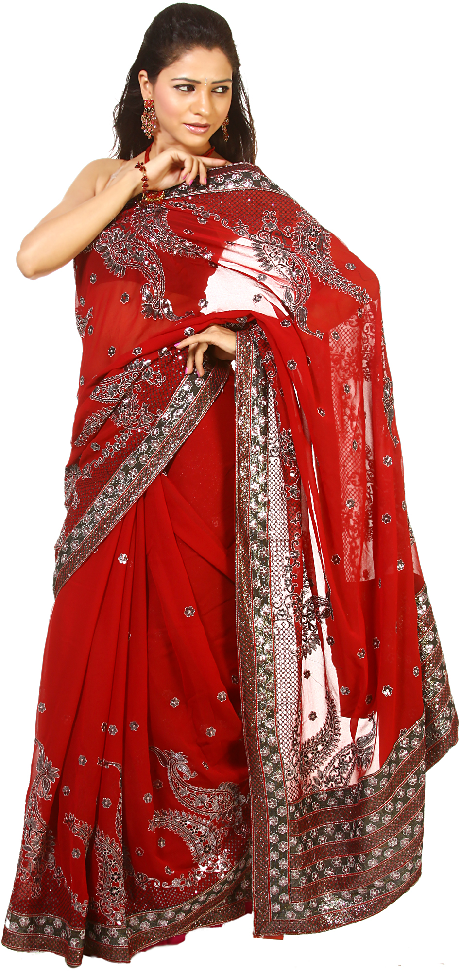 the red sari Want to stand out in the crowd this new year nothing beats a classic red saree  take a look at these red hot picks that will help you score high.
