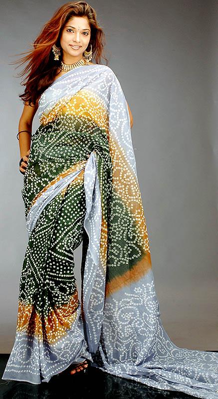 Bandhani - sari