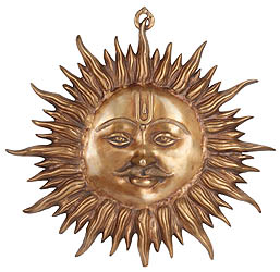Wall-Hanging: Auspicious Motif of Sun
