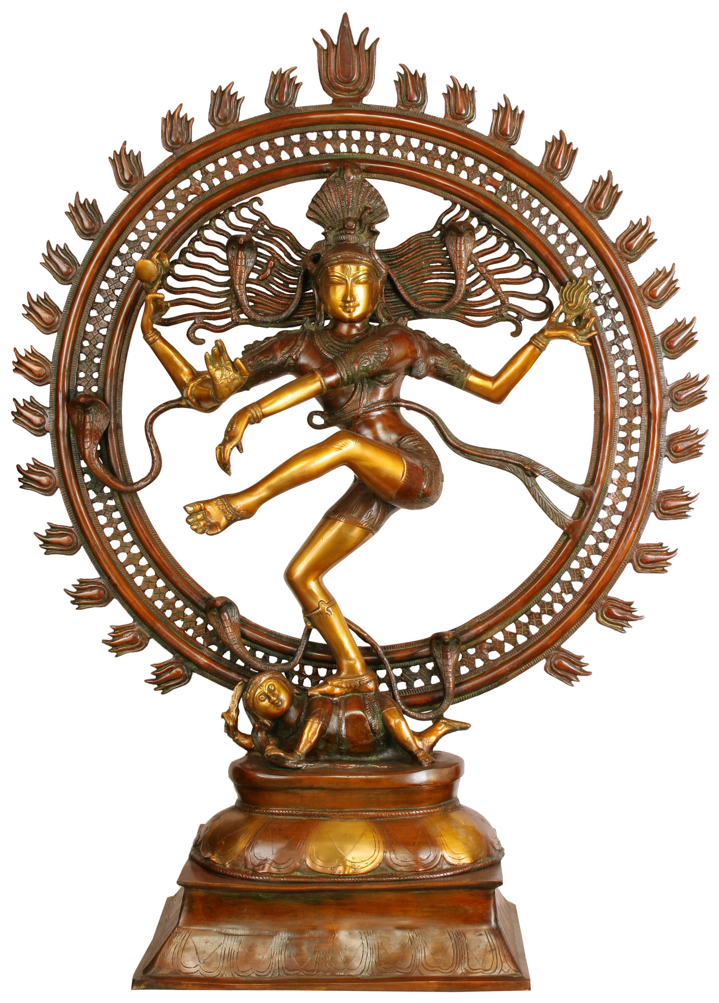 the character of nataraj Article about shiva, the third god in the hindu triumvirate.