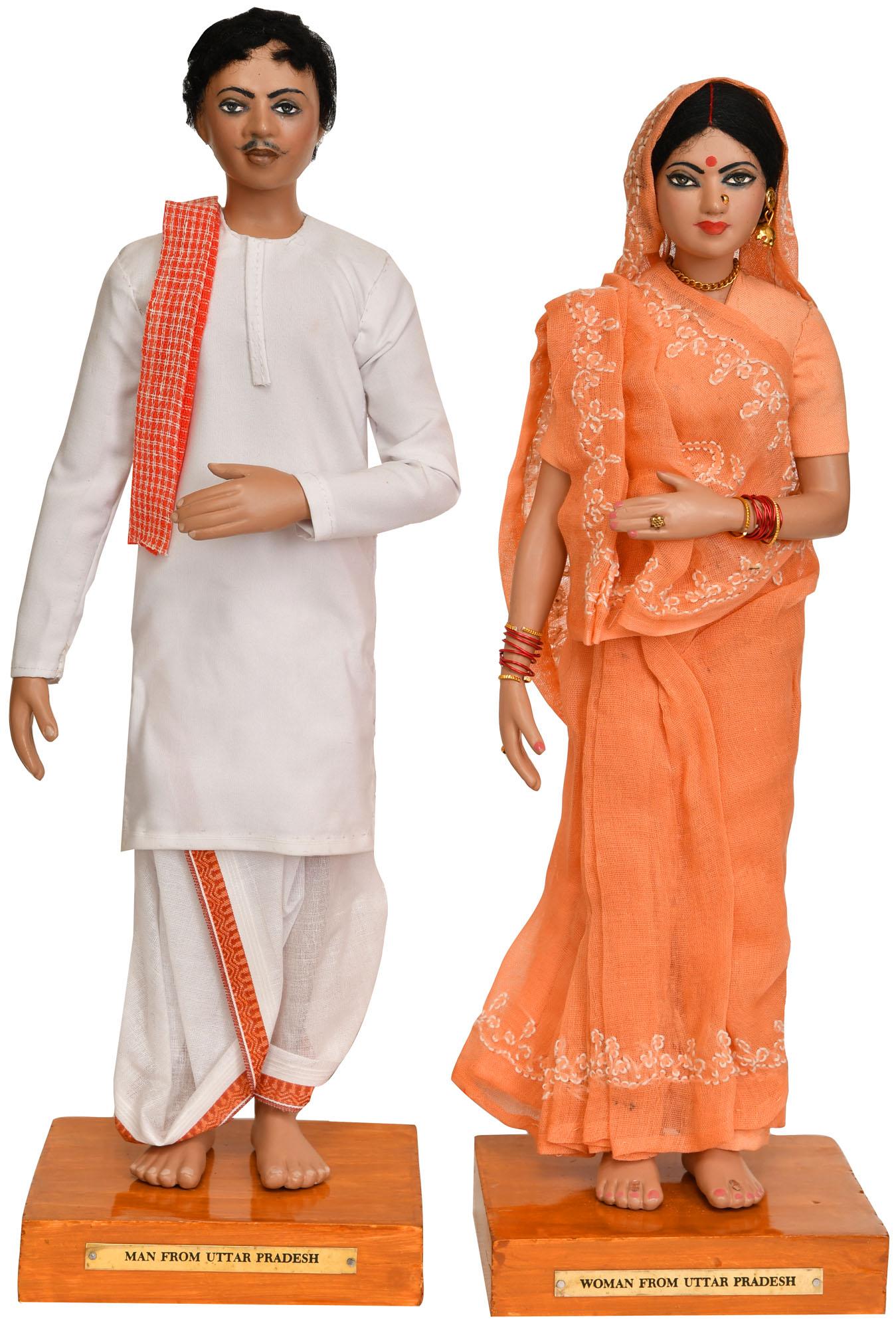 Man And Woman From Uttar Pradesh