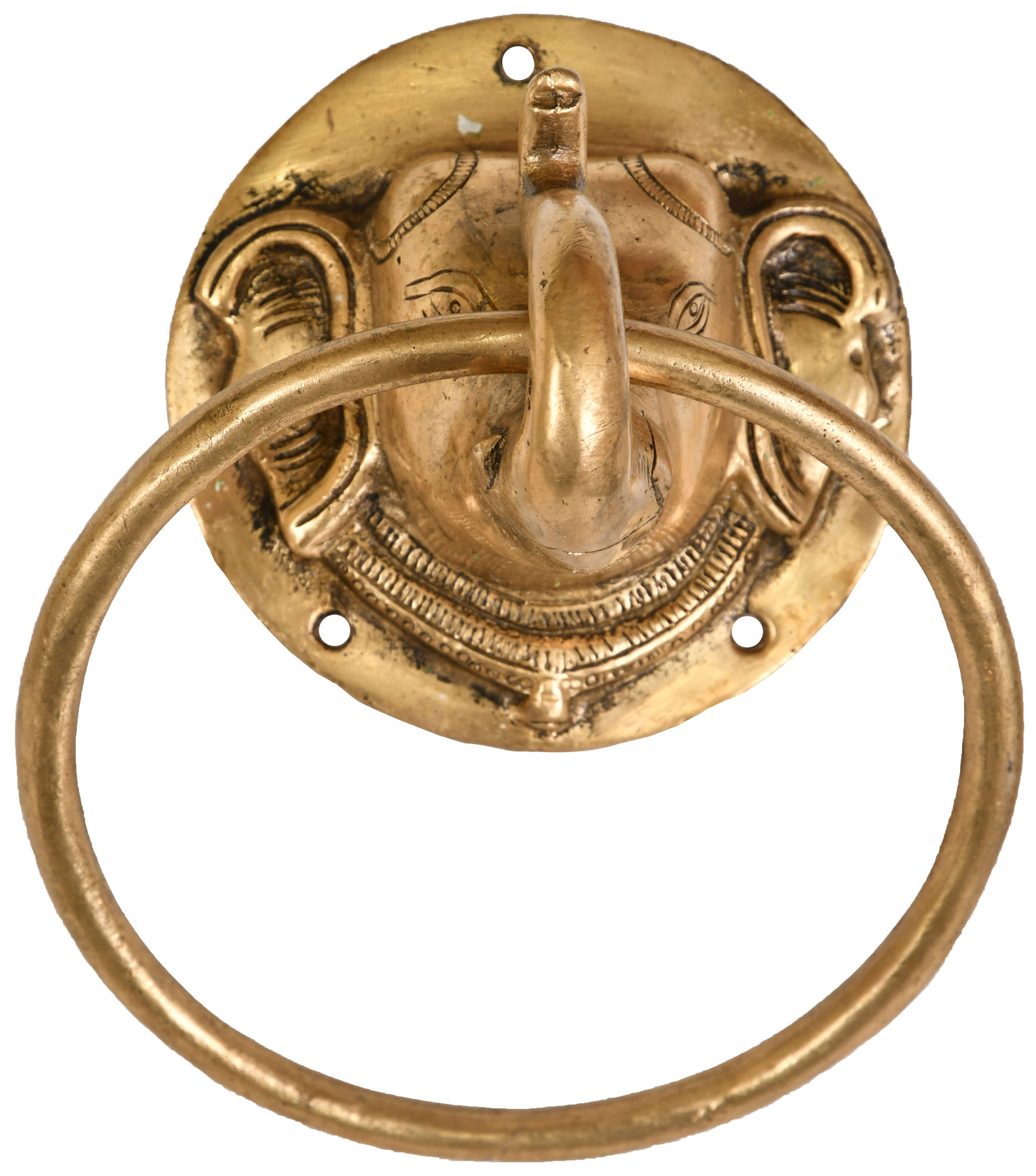 Elephant door knocker - Brass elephant door knocker ...