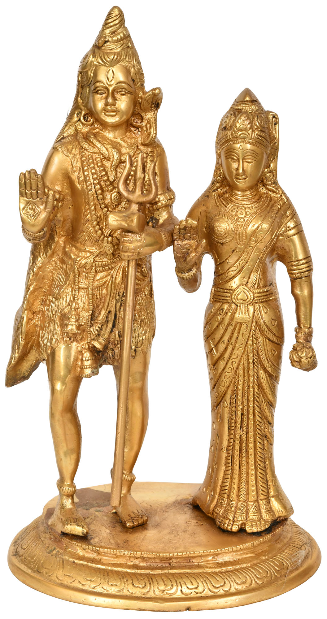 standing parvati In art, parvati is depicted seated on shiva's knee or standing beside him (together the couple is referred to as uma-maheshvara or hara-gauri) or as annapurna.