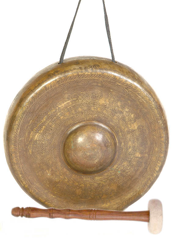 Ashtamangala Monastery Gong