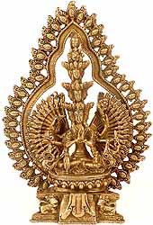 Thousand-Armed Seated Avalokiteshvara