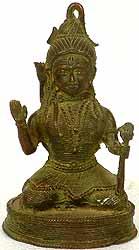 Tribal Shiva (Folk Statue from Bastar)