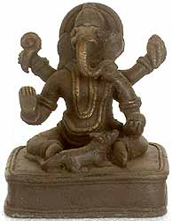 Tribal Ganesha