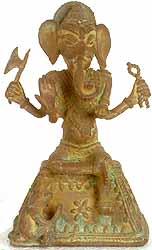 Tribal Ganapati