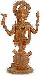 Matsya Avatar of Bhagawan Vishnu (Tribal Sculpture)