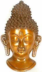 Buddha Wall Hanging Mask
