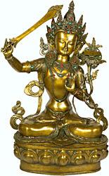 Manjushri, Buddhist God of Wisdom