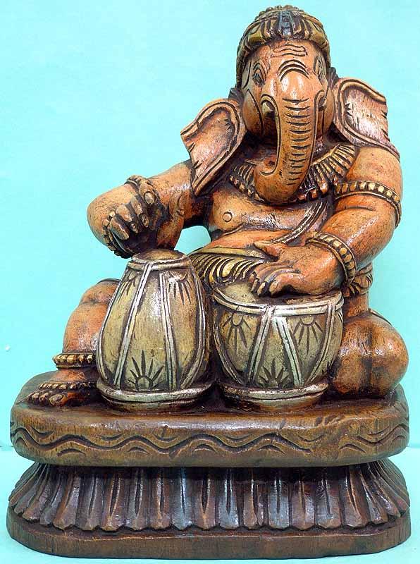 Ganesha, The Master-Drummer