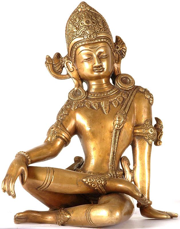 Sculptures gt brass gt indra the most popular vedic god