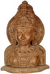Lord Vishnu Bust